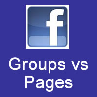Facebook Groups vs Pages Just for Authors & Business Owners